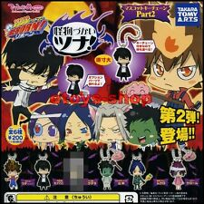 KATEKYO HITMAN REBORN Deformed Figure Series Part 2 Gashapon Set of 5 TAKARA