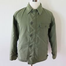 VINTAGE ORIGINAL USN US NAVY A-2 A2 DECK JACKET PERMEABLE 1968 VIETNAM MEDIUM