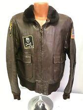 Vintage US Navy VF-84 Pilots G-1 Flight Jacket