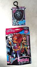 MONSTER HIGH 150 PC JIGSAW PUZZLE & BERRY LIP GLOSS KEYCHAIN NEW FREE PRIORITY
