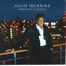 CD album  - JULIO IGLESIAS - ROMANTIC CLASSICS  -- ESPAÑA POP