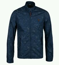 Pretty Green Kingsway Paisley Harrington Jacket Small Liam Gallagher Navy Blue