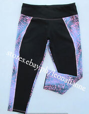 AUTH LULULEMON ATHLETICA STRETCHY CAPRI ACTIVE LEGGINGS SIZE 6 / SMALL #42 BNEW