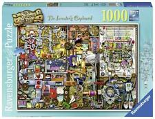 RAVENSBURGER PUZZLE THE INVENTOR'S CUPBOARD COLIN THOMPSON 1000 PCS #19597