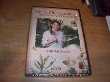 The Edible Garden: Breaking Ground with Val Zavala (DVD 2011) Starter Kit NEW