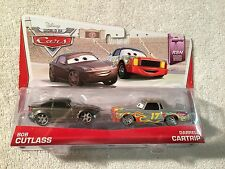 DISNEY/PIXAR MATTEL WORLD OF CARS BOB CUTLASS & DARRELL CARTRIP DIECAST 2 PACK