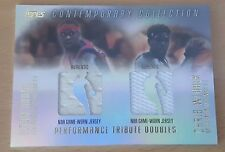 2003-04 Topps Contemporary Collection Performance Tribute Doubles Webber/Brand