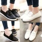 New Women Leather Shoes Loafers Slip on Soft Leisure Flats Female Casual Shoes