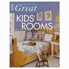 Ideas for Great Kids' Rooms by Sunset Publishing Staff (1993, Paperback)