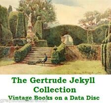 The Gertrude Jekyll Gardening Collection - Vintage Garden Books on a Data Disc