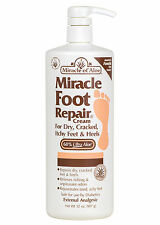 New Miracle Foot Repair 32 oz. Cream for Dry, Cracked Feet vintage parts kit.