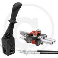 Hydraulik Steuergerät Frontlader 2xdw 40 l/min Schwimmstellung 1,5m Bowdenzug