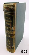Original Meyers Konversations Lexikon  Lexicon 1874 3rd Ed Book 2 NR G02