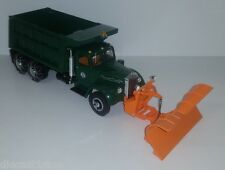1:34th Scale First Gear Arapahoe L Model Mack Dump Truck with Plow - 10-3195