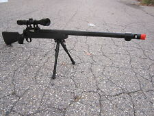 Well VSR 10 Urban Combat Full Metal Bolt Action Sniper Rifle w/ 3-9x40 Scope