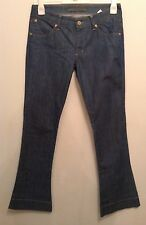 NEW �� SUPERFINE �� BOOTCUT JEANS W30 L 34 STRETCHY BLUE DESIGNER HARVEY NICS