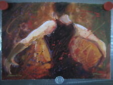 "Jennifer Bowman ""Dancer III"" #1/150 Giclee Female Ballet Flamenco Contemporary"