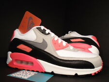Nike Air Max 90 OG WHITE COOL GREY BLACK INFRARED PINK ORANGE 725233-106 DS 11.5