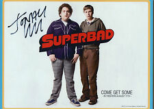 JONAH HILL Signed 12x8 Photo SUPERBAD & MONEYBALL COA