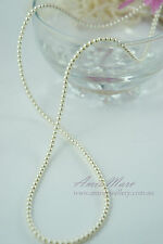 290beads 3mm Glass Pearl Cream/Ivory Color Round DIY Imitation Loose Pearl Beads