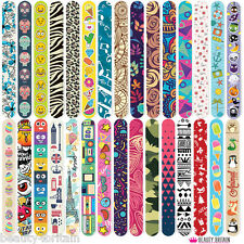 10 x NAIL FILES 10 DIFFERENT DESIGNS DOUBLE SIDED WHOLESALE UK STOCK