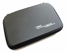 NEW Nintendo 3DS XL and New 3DSXL Black Carry Case Bag Pouch UK Seller