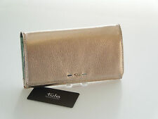 Tula Violet Range Large Matinee Purse In Metallic Copper Leather RRP £59.00 BNWT