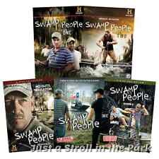 Swamp People History TV Series Complete Seasons 1 2 3 4 5 Boxed/DVD Set(s) NEW!