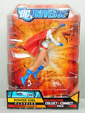 DC Universe Classics 2010 POWER GIRL (DCUC Wave10 Fig 4) BAF IMPERIEX_MOC NEW
