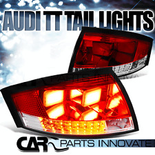 New Style For 99-06 Audi TT Quattro LED Red Tail Lights Brake Signal Lamps