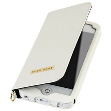 Genuine Hugo Boss Gracious Flip Wallet Case for iPhone 5 / 5s / 5se White