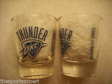 Oklahoma City Thunder 2 oz. Shot Glass