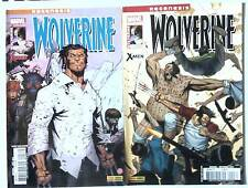 lot WOLVERINE 2 et 3 (Marvel panini 2012) REGENESIS / WOLVERINE AND THE X MEN