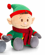 Christmas Pals Soft Toy Teddy by Keel Toys Xmas Gift Present - CHRISTMAS ELF