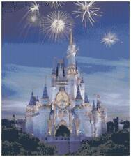 Cinderellas Castle 2 - 14 Count Cross Stitch Kit
