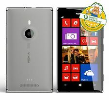 Nokia Lumia 925 Windows 8 Desbloqueado Gris 4G teléfono inteligente 1.5GHz 8.7MP 16GB Grado B