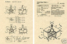 Atari 2600 JOYSTICK PATENT Vintage Art Print READY TO FRAME!!!! video game