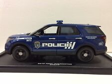 1/18 Puerto Rico Police : New F/Explorer Decals For Dark Blue Paint. New ! READ