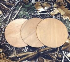 """3 -  3""""  Cherry Sound Board  For Friction Pot Turkey Calls"""