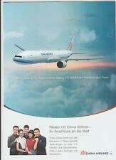 Brochure CHINA AIRLINES SKYTEAM
