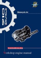 MV Agusta Service Engine Manual  2005 BRUTALE 910 S