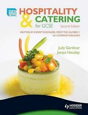 WJEC Hospitality and Catering for GCSE, Housley, Jacqui, Gardiner, Judy, New Con