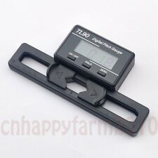 Digital Pitch Gauge LCD Display Blades Degree Angle For ALIGN AP800 TREX 450-700