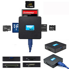 High Speed USB3.0 All in 1 SD TF CF XD M2 MS Flash Memory Card Reader Adapter