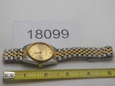 Vintage Jewelry Watch Geneva  Japan Movement  Beautiful  Quartz Men's  18099