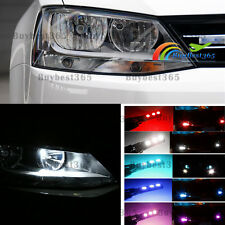 2x LED Eyelid Parking Light Side Marker Tail Light Bulbs for Volkswagen Jetta 6