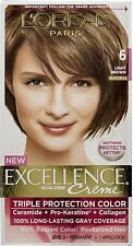L'Oreal Paris Excellence Color 6 Light Brown (Pack of 6)