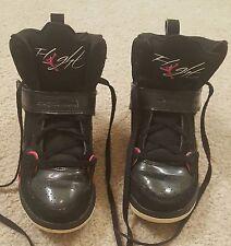 2011 Girls Nike Air Jordan Flight 45 384521‑006 - Black & Pink - Size 3Y