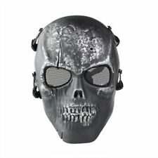 Skull Skeleton Airsoft Paintball Full Face Protect Mask DI