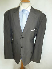 MENS HUGO BOSS SCORSESE MOVIE AUTUMN FALL WOOL SUIT JACKET 44 R WAIST 38 LEG 34